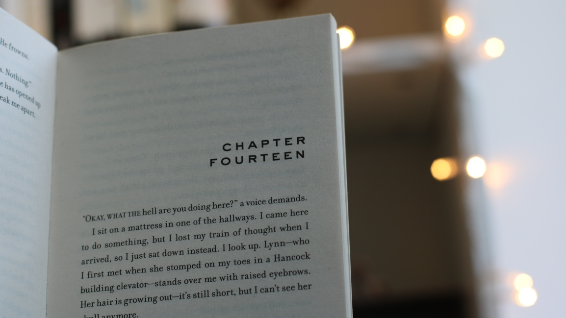 An Important Difference Between Chapters & Scenes InBooks